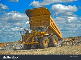 100 Huge Trucks Mining Truck Mining They Stock Photo Edit Now