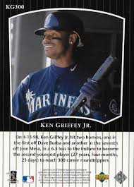 Upper Deck Redemption Problems by The Junior Junkie The Baseball Cards Of Ken Griffey Jr And Beyond