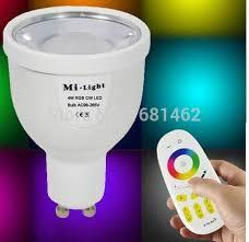 wifi gu10 1 6million color change dimmable 2 4g led spot l 4w
