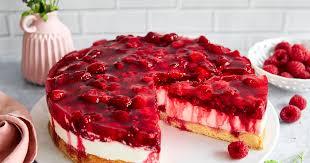 himbeer joghurt torte einfaches rezept mit gelatine