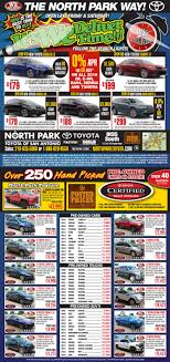 Current North Park Toyota | Newspaper Ad | Near New Braunfels, TX Uncategorized Archives Kyrish Truck Centers Cavender Buick Gmc North San Antonio And Dealership Fleetpride Home Page Heavy Duty Trailer Parts 4 Wheel All New State Of The Art Offroad Shop Craigslist Free Stuff Pladelphia City Considers Mobile Food Truck Program Haulmax Dump A Photo On Flickriver Full Service Isuzu Commercial Dealer Tx New 2016 Chevrolet Silverado 1500 Lt In Braunfels Que Pasa Pasa Parts Parcipation Studio Ford Tailgate Latch Wonderfully 2015 Ford F 150 Xlt In