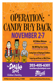 Operation Gratitude Halloween Candy Buy Back by Operation Candy Buy Back At Local Dentist Office