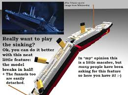 lego titanic set concept being reviewed let s hope it stays