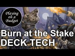 Guttersnipe Young Pyromancer Deck by Mtg Standard Burn At The Stake Deck Tech Playing On A Budget