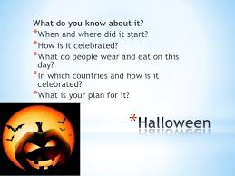 When And How Did Halloween by Ic Week 2 Holidays