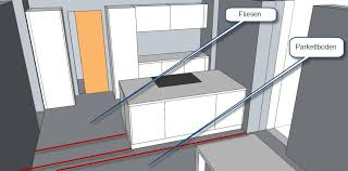 übergang fliesen küche zu parkett wohn esszimmer aber