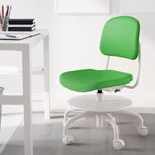 vimund schreibtischstuhl für kinder leuchtend grün ikea