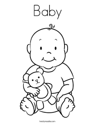 Sheets Baby Coloring Page 40 On Coloring Print With Baby Coloring