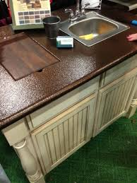 Spray paint Copper metal to your laminate countertops