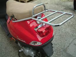 Cuppini Rear Rack For Top Case Vespa LX