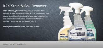r2x flooring cleaners shaw floors
