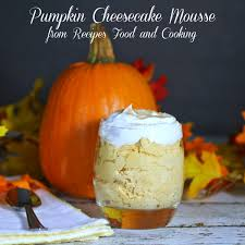 Epicurious Pumpkin Pecan Pie by Pumpkin Cheesecake Mousse Pumpkinweek Recipes Food And Cooking