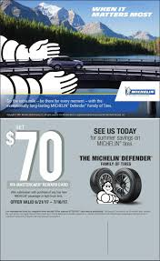 Michelin Tire Rebate Discount Tire : California Grill Disney ...