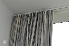 white curtain track ripplefold hospital track apartment window