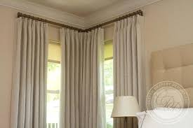 Bay Window Curtain Rods Walmart by Curtains And Rods U2013 Teawing Co