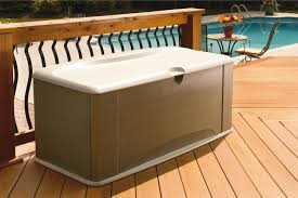 Rubbermaid Patio Storage Bench 3764 by Patio Storage Bench Patio Storage Bench Outdoor Poolside Home