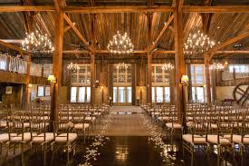 Les Fleurs Barn At Gibbet Hill Indoor Ceremony Wedding Neutral Fall