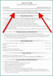 Examples Of Resumes Objectives And Resume Objective Designlook