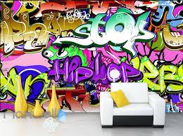 Purple Graffiti Wallpaper For Walls Hip Hop