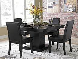 amazon com cicero 5 piece dining table set by home elegance in
