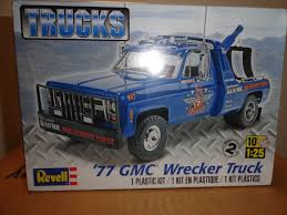 Revell Plastic Model Kit 1977 GMC Wrecker Truck 1/25 Scale Rmx857220 ... Revell Peterbilt 359 Cventional Tractor Semi Truck Plastic Model Free 2017 Ford F150 Raptor Models In Detroit Photo Image Gallery Revell 124 07452 Manschlingmann Hlf 20 Varus 4x4 Kit 125 07402 Kenworth W900 Wrecker Garbage Junior Hobbycraft 1977 Gmc Kit857220 Iveco Stralis Amazoncouk Toys Games Trailer Acdc Limited Edition Gift Set Truck Trailer Amazoncom 41 Chevy Pickup Scale 1980 Jeep Honcho Ice Patrol 7224 Ebay Aerodyne Carmodelkitcom