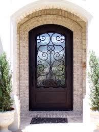 cuisine porte d entree pvc portail pvc fer forge vitree jpg ã