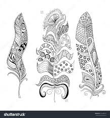 Coloring Pages Of Feathers