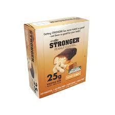 NuGo Stronger Peanut Cluster Bars