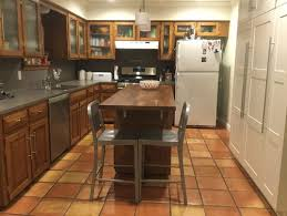 ubatuba counters and saltillo tile floors