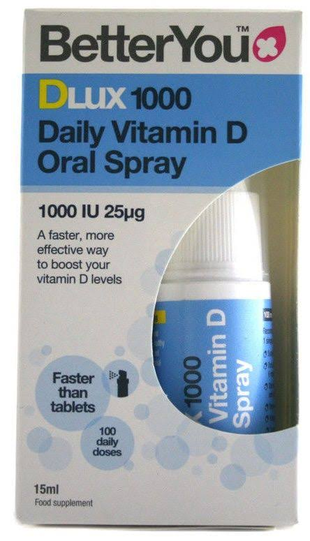 BetterYou Dlux 1000 Vitamin D Oral Spray 15ml