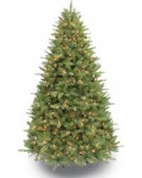 Puleo International 6 1 2 Ft Pre Lit Douglas Fir Premier Artificial Christmas