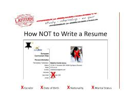 How To Write A Excellent Resume by This Is What A Resume Should Look Like Careercup