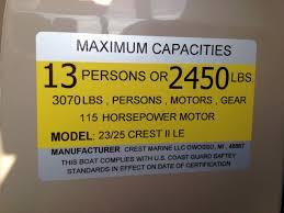 Crest Pontoon Captains Chair by 18 Crest Pontoon Captains Chair Crest 25 Boats For Sale