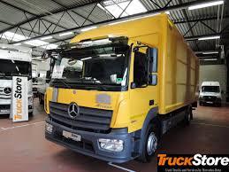 100 Truck Store MERCEDESBENZ Atego Neu Verteiler 1224 L 4x2 Closed Box Truck