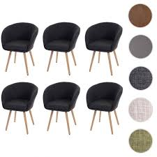 6x esszimmerstuhl malmö t633 stuhl küchenstuhl retro 50er