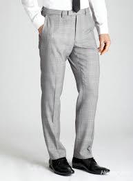 light grey cheak tailored business men pants designer 1 13222220197051213 jpg