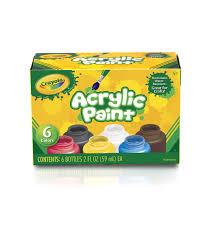 Crayola Bathtub Fingerpaint Soap Set by Crayola Acrylic Paint Set Joann