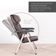 UKnead UK-320 Electric Portable Folding Full Body Shiatsu Massage Chair  With Heat