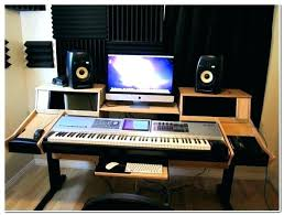 Studio Desk Design Music Bedroom Home Ideas Simple