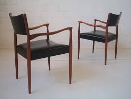 PAIR Vintage Danish Style Dining Carver Arm Chairs By PARKER ... Danish Midcentury Modern Rosewood And Leather Ding Chairs Set Of Scdinavian Ding Chairs Made Wood Rope 1960s 65856 Mid Century Teak Seagrass Style Layer Design Aptdeco 6 X Style Room Chair 98610 Living Room Fniture Replica Wooden And Rattan 2 68007 Pad Lifestyle Herringbone Sven Ding Chair Sophisticated Eight Brge Mogsen In Vintage Market Weber Chair Weberfniturecomau Vintage Danish Modern