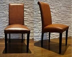 italienische leder stühle esszimmer echtleder stuhl lederstühle viele farben ebay