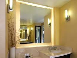lighted vanity mirrors for bathroom lighting mirror with lights