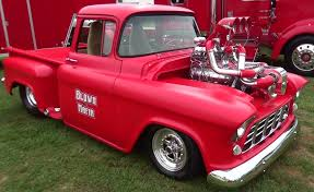 56 Chevy Pickup Big Block F2 ProCharger & 871 Blower