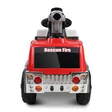 100 Fire Truck Kids Rigo Ride On Car Red Grey Valise Homewares