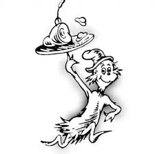 Green Eggs And Ham Coloring Pages Within Page