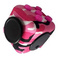 Fidget Cube ToyCamo Anxiety Attention Stress Relief For Children And Adults ADHD