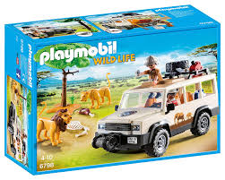 100 Safari Truck Amazoncom PLAYMOBIL With Lions Toys Games