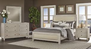 Vaughan Bassett Dresser Knobs by Kismet Upholstered Panel Bedroom Set Sandstone Oak Vaughan
