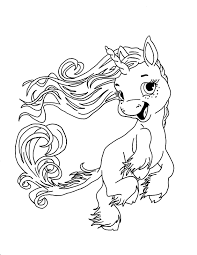 Realistic Winged Unicorn Coloring Pages