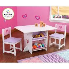 cuisine enfant kidkraft dinette cuisine ensemble table 2 chaises coeur kidkraft